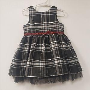 Genuine Kids from Oshkosh Plaid Holiday dress